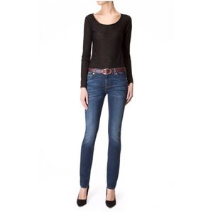 7 For All Mankind Roxanne Slim Fit Skinny Jeans